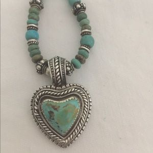 Jewelry - 925 Sterling Turquoise Necklace